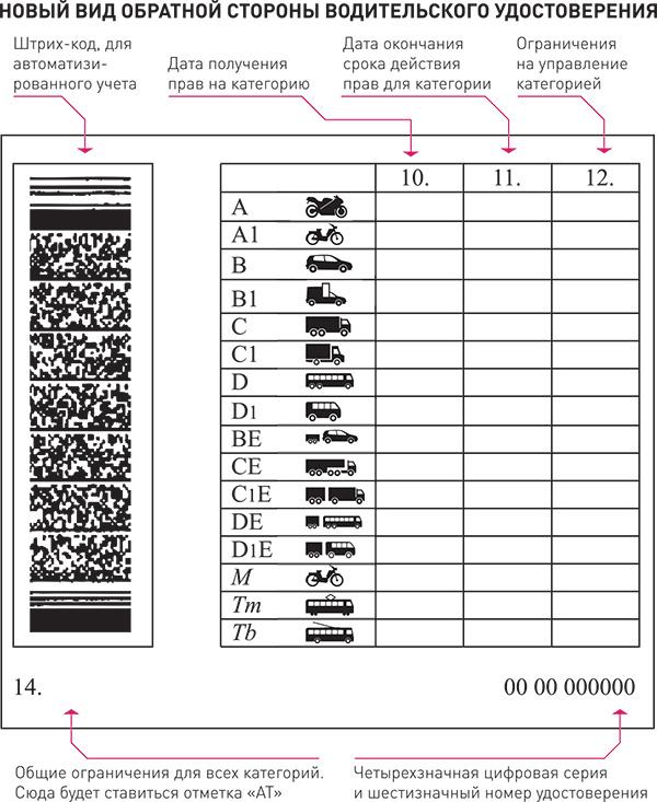 Водительские права нового образца появятся с 1 апреля 2014