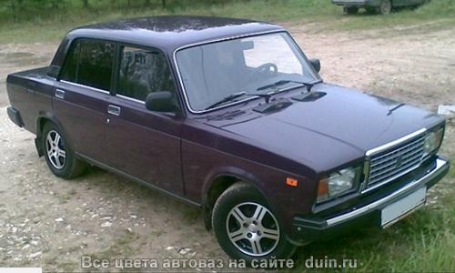 ВАЗ 2107 Баклажан