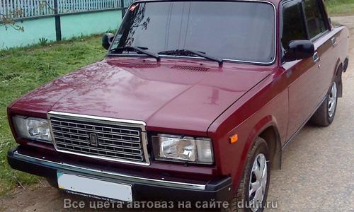 ВАЗ 2107 Гранат