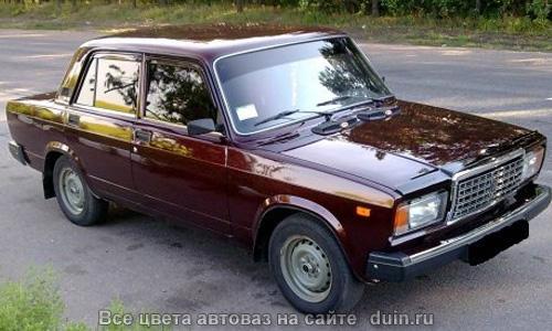 ВАЗ 2107 Портвейн