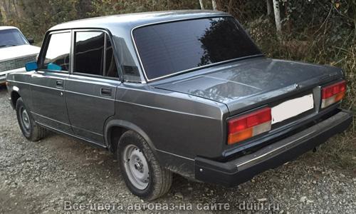 ВАЗ 2107 Мокрый асфальт