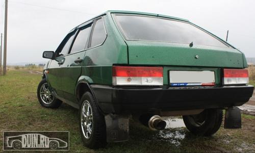 ВАЗ 2109 цвет Игуана 311