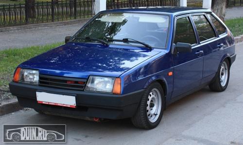 ВАЗ 2109 цвет Рапсодия 448 серебристо ярко синий Авто