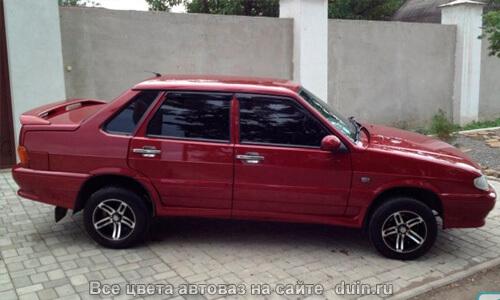 ВАЗ 2115 Калифорнийский мак