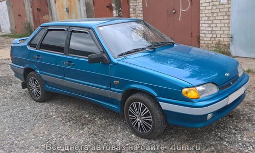 ВАЗ 2115 Аквамарин