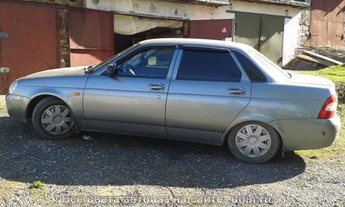 Лада Приора цвет Кварц (код 630) серый