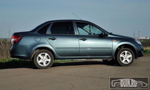 Цвет машины серо-синий