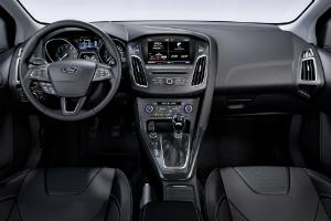 Ford Focus III рестайлинг салон