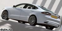 Ford Mondeo 2013 белый сзади