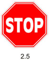 Движение без остановки запрещено