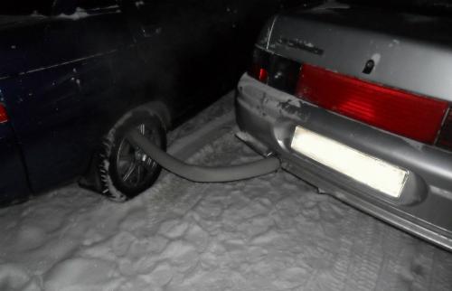 обогрев тормозных дисков выхлопными газами