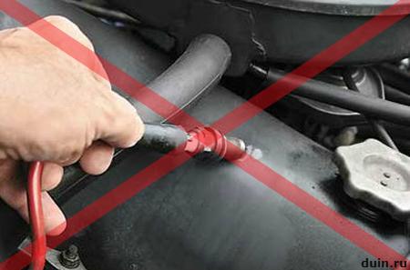 проверка катушки зажигания от двигателя