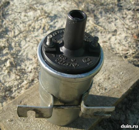 катушка зажигания, в которой используетсся трансформаторное масло