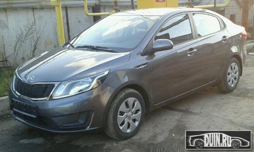 Kia Rio III цвета Carbon Grey (SAE) серый | Авто: http://duin.ru/avto/kia-rio-iii-cveta-carbon-grey-sae-seriie.html