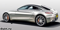 Новый суперкар SLC от Mercedes