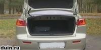 Mitsubishi Lancer X багажник