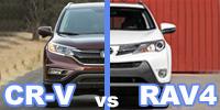 Что лучше Honda CR-V или Toyota RAV-4