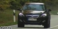 Opel Astra J черный