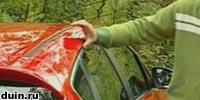 Opel Astra J 10 сантиметров над стеклом
