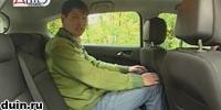 Opel Astra J место сзади