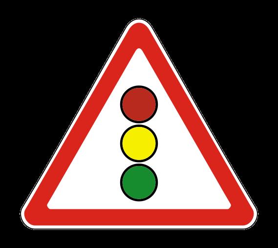 Знак Светофорное регулирование 1.8