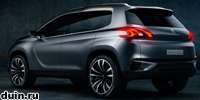 Urban Crossover – новинка от Peugeot