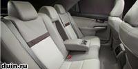 Toyota Camry 2012 года заднее сиденье белое