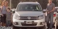 Реклама Volkswagen Tiguan: самостоятельная парковка
