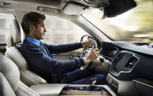 Новый Volvo XC90 2016 салон